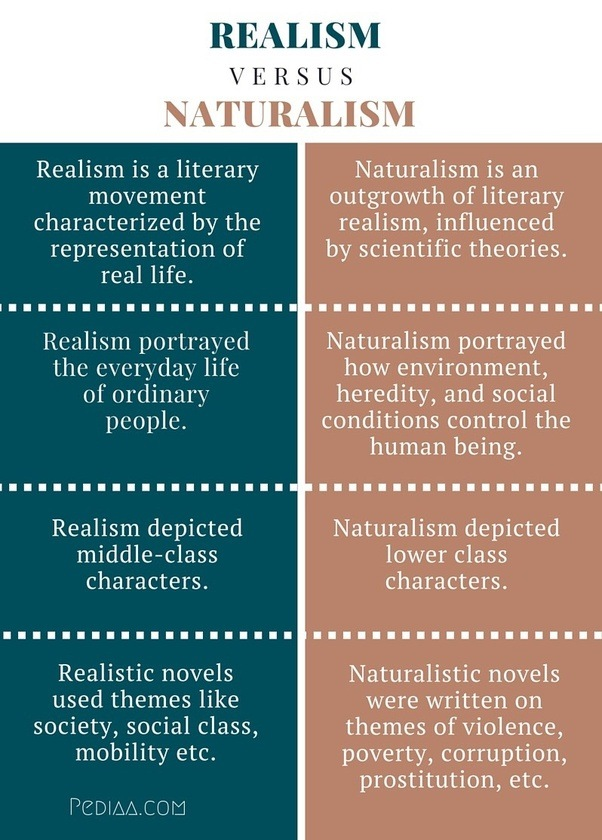 """importance of literary realism on novels Realism and naturalism 2 definition of american realism the main theme of henry james' """"the art of fiction"""" reveals his literary credo that."""
