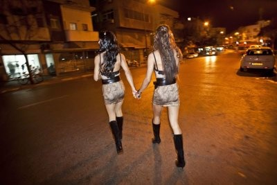 Girls in Haifa