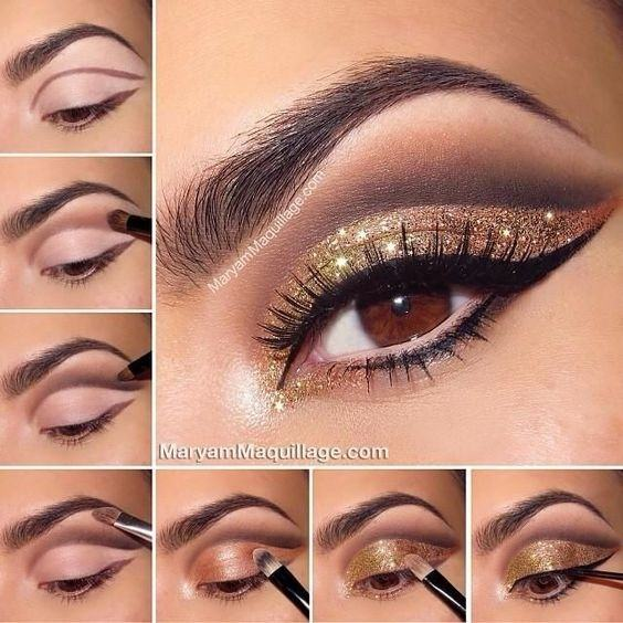 What Are Some Good Makeup Ideas When Wearing A Gold Dress Quora