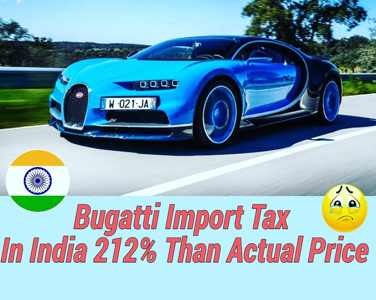 Can I Buy Bugatti Chiron In India Quora