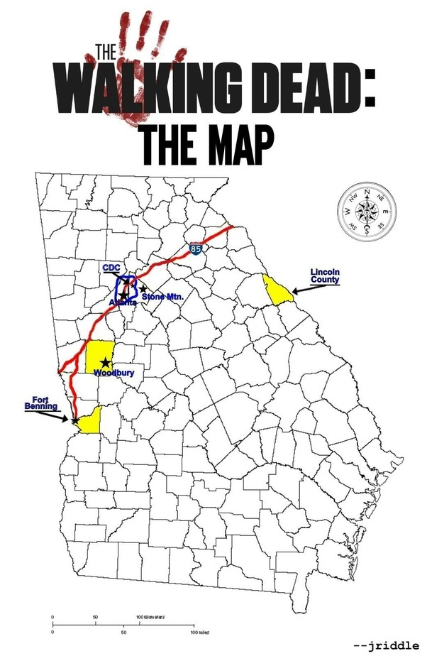 Image Result For Terminus Map Walking Dead