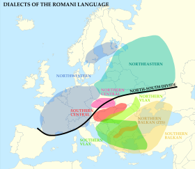 The roma people are said to be from northern India being a place of