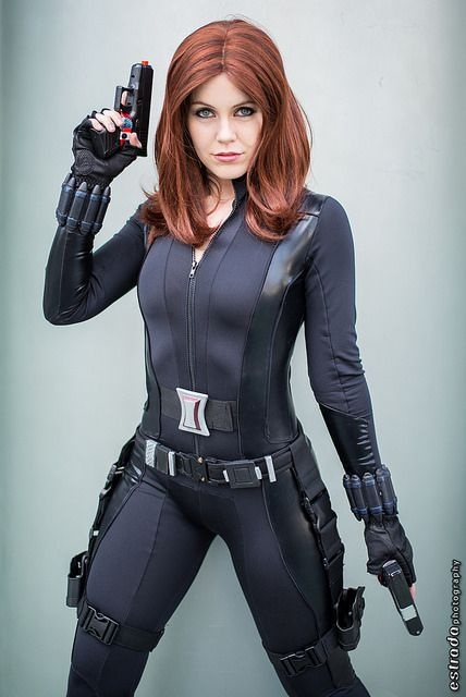 Black widow avengers cosplay