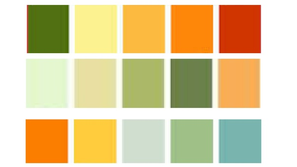 what colours of curtains blend with green and orange walls quora