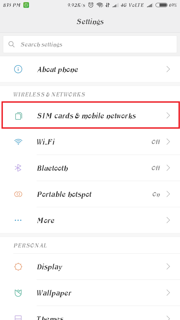 How to activate 4G on my Redmi Note3 - Quora