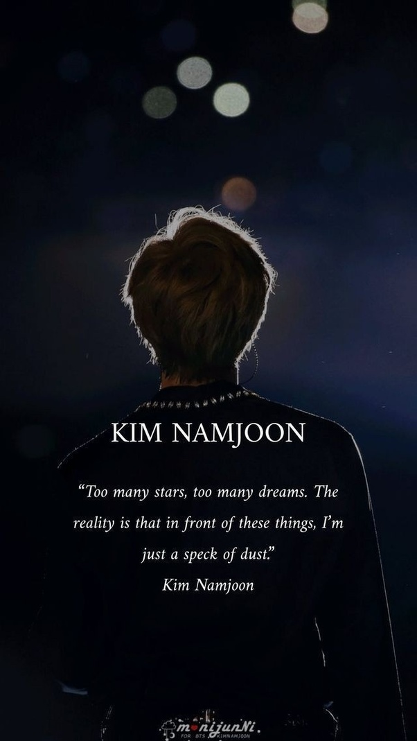 what are some coolest quotes by bts quora