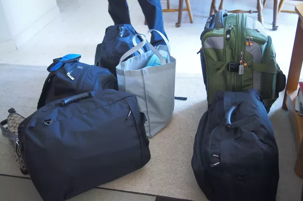 Is a backpack or a suitcase on wheels better for a two