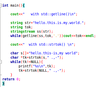 Is It Possible To Split A String By A Delimiter In C With Elegance