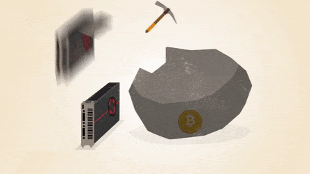 Does cryptocurrency mining cost alot of network