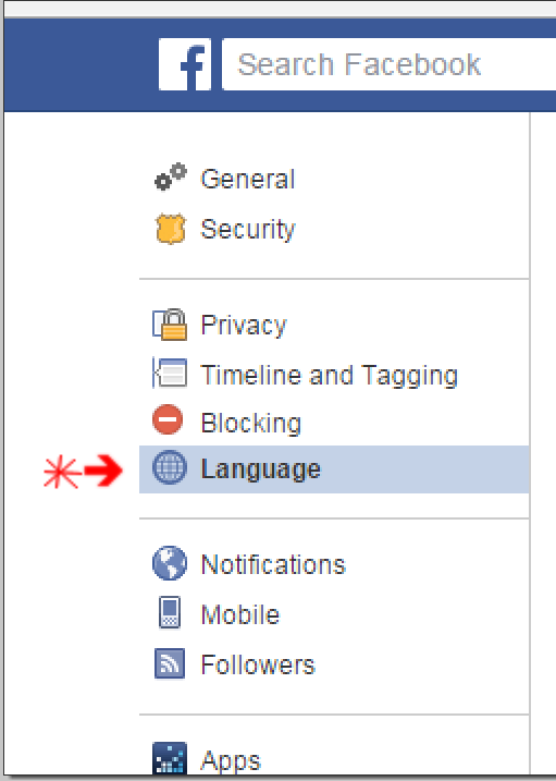 How To Change Language Settings On Facebook Quora