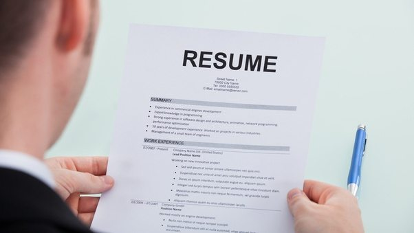 how to have a good resumes