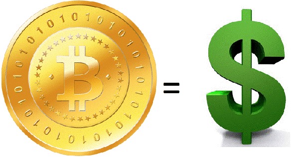 how to convert bitcoin back to usd