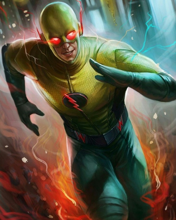 In CW Flash, what is the rank from lowest to highest on who