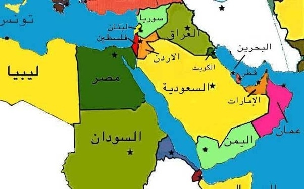How is Israel shown on maps in Arabic counrties? - Quora