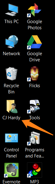 how to change the users folder name in windows 10