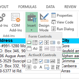 How to create a VBA script to insert row ('add button') in Excel - Quora
