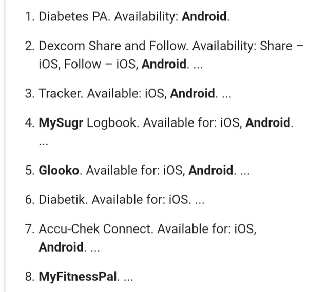 Which is the best diabetes tracking app? - Quora