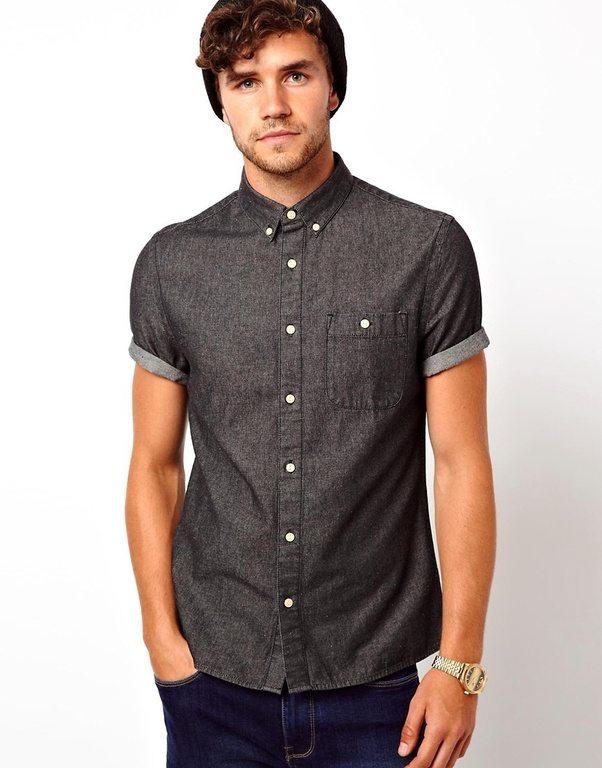 Which colour shirt suits black jeans? - Quora