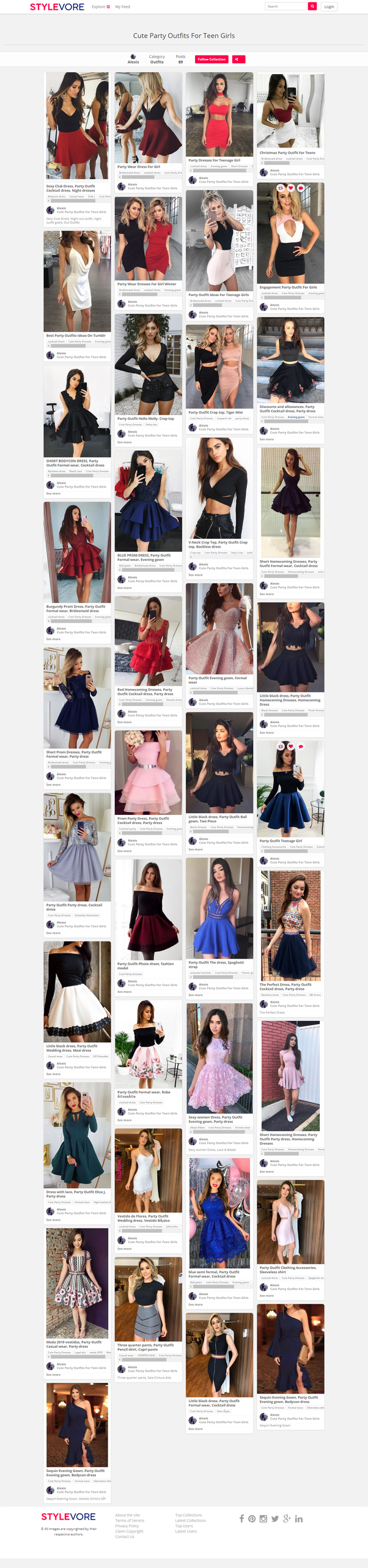 7bcb15e42 Check out this board on the Stylevore website to get more amazing ideas-  Cute Party Outfits For Teen Girls