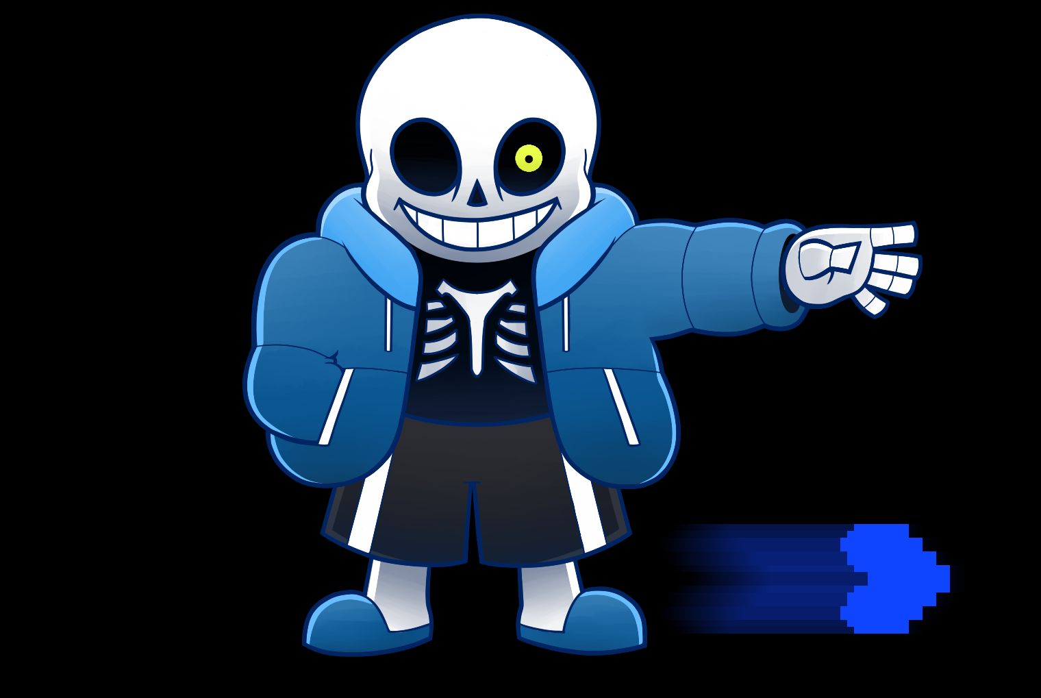 How deadly would I be if I could wield the powers of Sans from