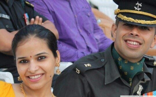 Beautiful Army Pilot In Love