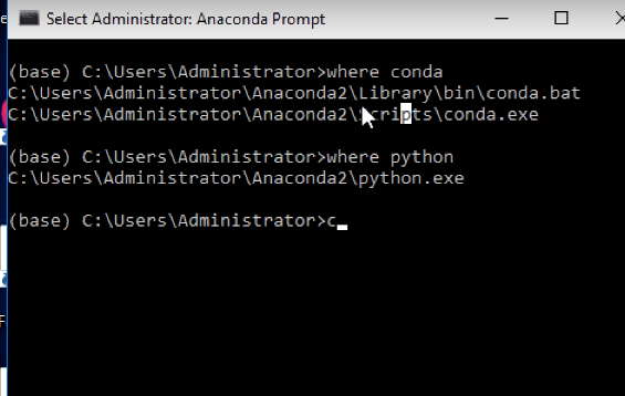 After installing Anaconda 3 5, there is no Anaconda prompt  What