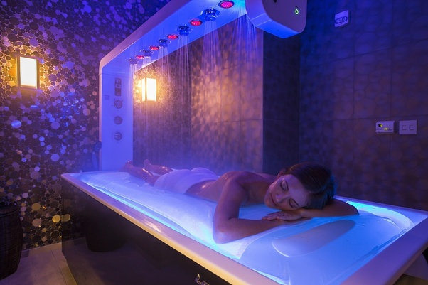 What Is A Table Shower At A Spa Quora