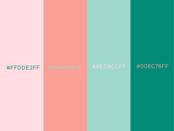 wonderful pink green living room color schemes | Whats best combination for sea green colour? - Quora