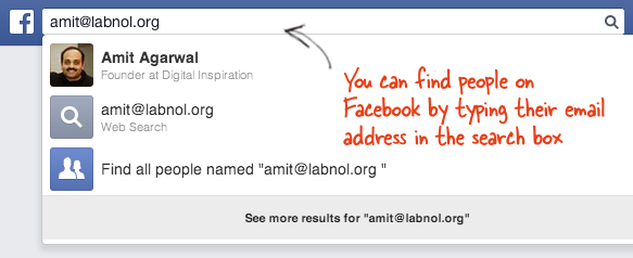 How to find out who an email address belongs to