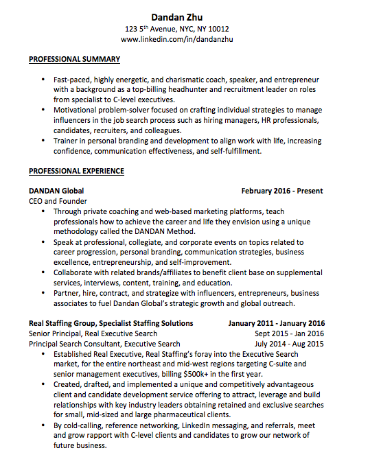 what is the best way to design an attractive job resume recently i