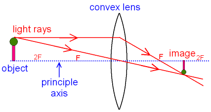 What are the differences between a convex lens and a concave