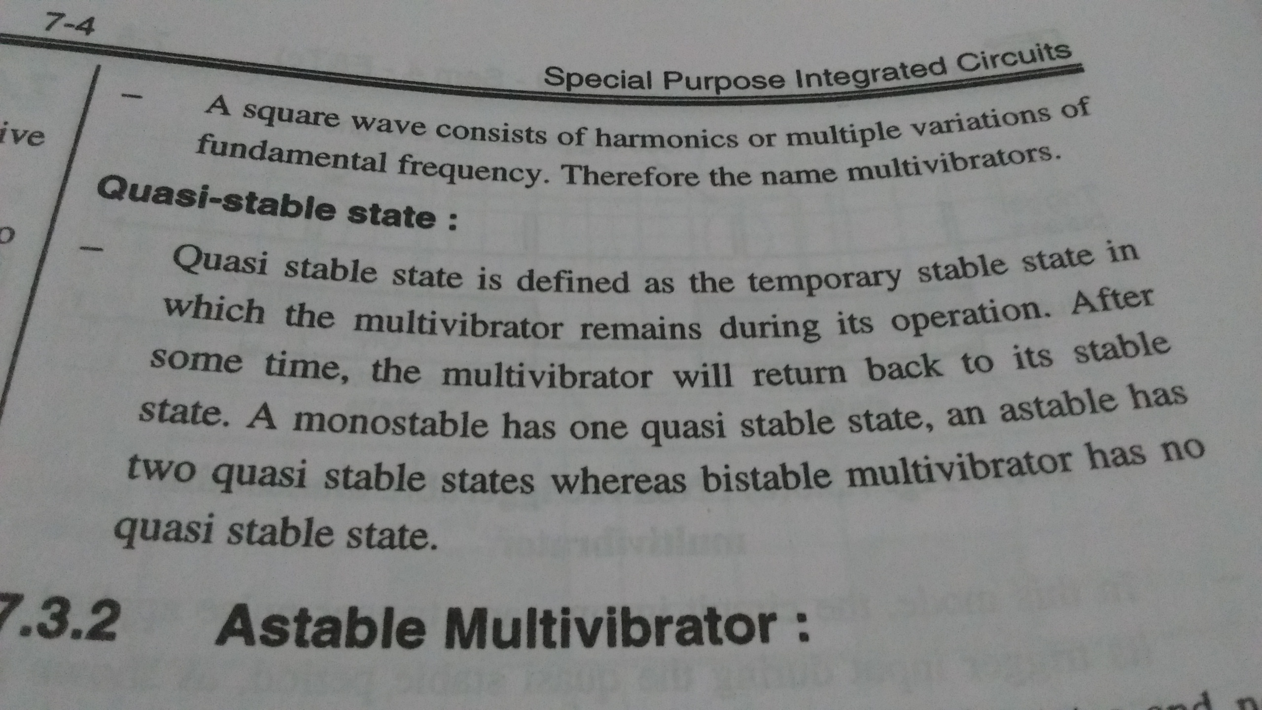 What Is Meant By Quasi State In Monostable Multivibrator Quora The 555 Timer Bistable Circuit You Can Find Circuits Answer Image
