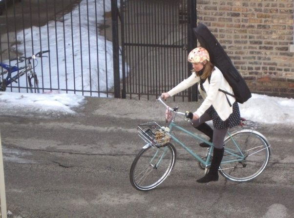 How To Carry A Guitar While Riding Bicycle