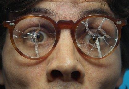 Image result for crack eye glasses