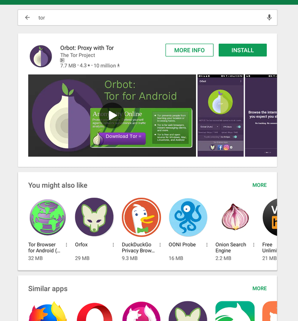 Is it possible to get Tor on a Chromebook through the Google Play