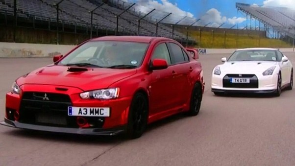 Cars Such As The Alfa 156 And Mitsubishi Evo Did It First. It Looks Cool  Because It Is Different So Now It Is Widely Copied.