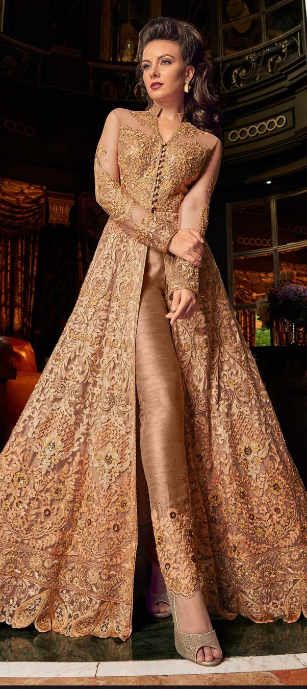 63a527279f What is latest trend in suit salwar 2019? - Quora