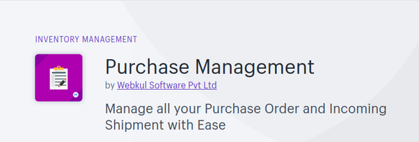 Purchase Management for Shopify