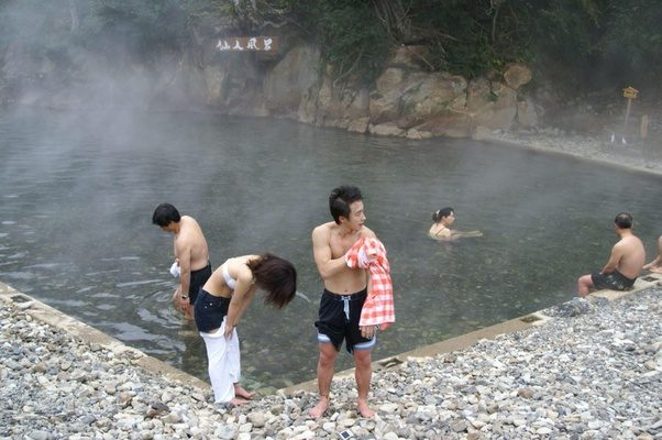 from Julien nude chinese girls in hot springs