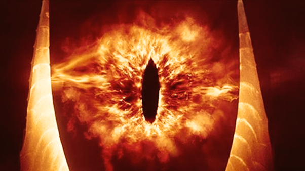 Lord Of The Rings The Eye Falls