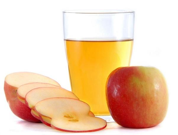 Vinagre de sidra de manzana para el pelo seco