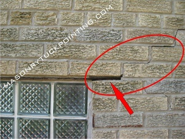 Why Do Brick Walls Crack In Houses Quora