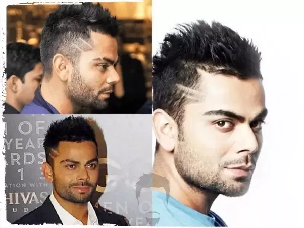 Here Are 5 Virat Kohli Hairstyle Names From Latest Men Hairstyles. They  Have Given With Images.