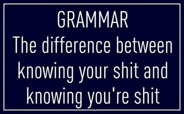 Basic But Important Grammar rules everyone should follow
