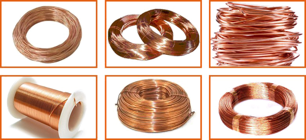 why are copper wires used for electrical fittings quora