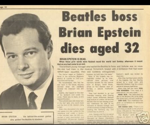 If The Beatles manager Brian Epstein had lived, would The Beatles still  have broken up when they did? - Quora