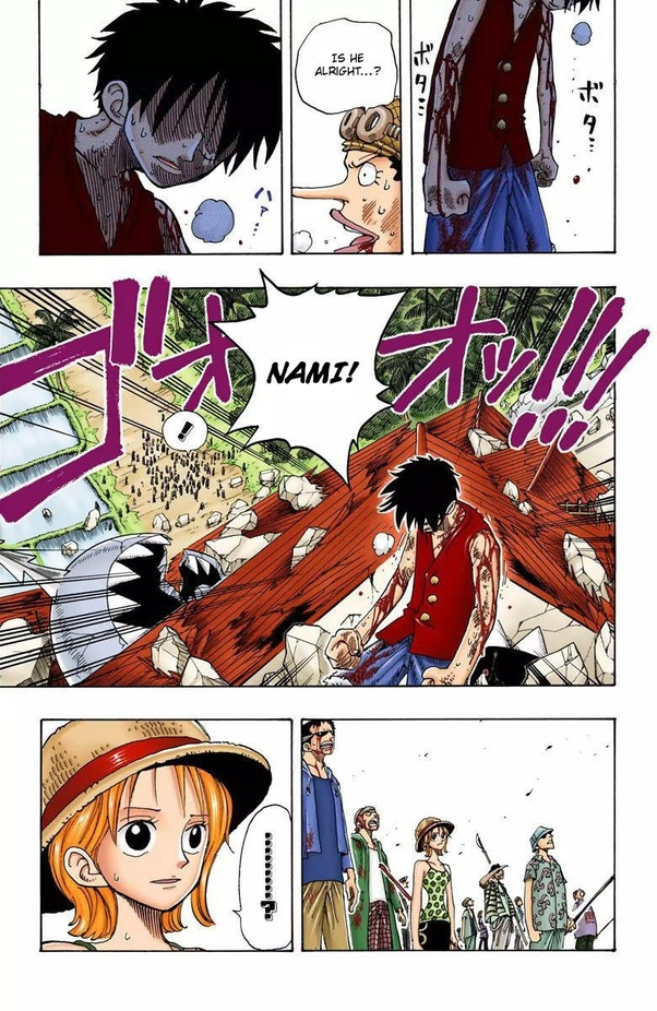 What is the relationship between Luffy and Nami in One Piece? - Quora