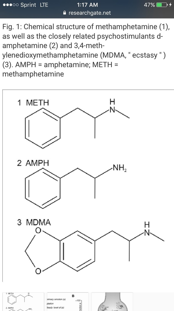 How does MDMA differ from crystal meth? - Quora