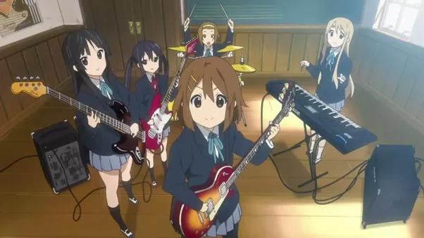 girls Moving anime teen