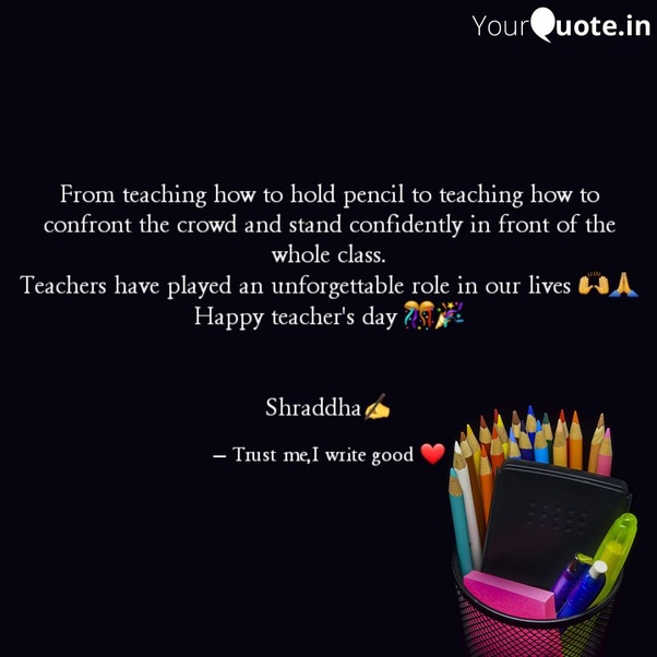 What are some quotes for Teachers Day? - Quora